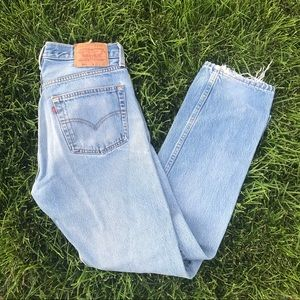 Vintage Made in USA Levi's 501